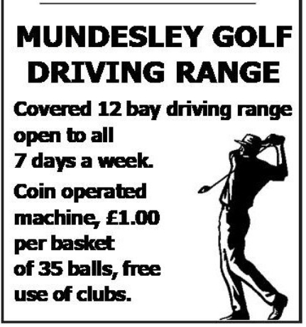 Mundesley Driving Range